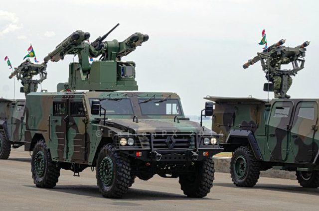 Rudal Mistral Arhanud TNI Angkatan Darat. (fallenpx)