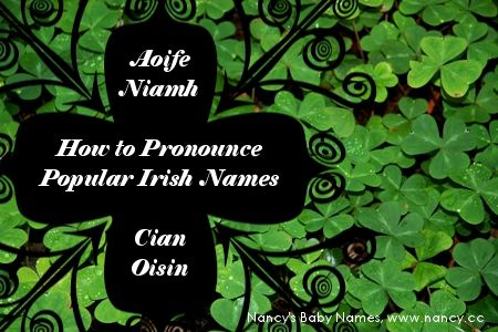 Wondering how to pronounce common Irish baby names like Aoife and Niamh? Find out here! #babynames #ireland