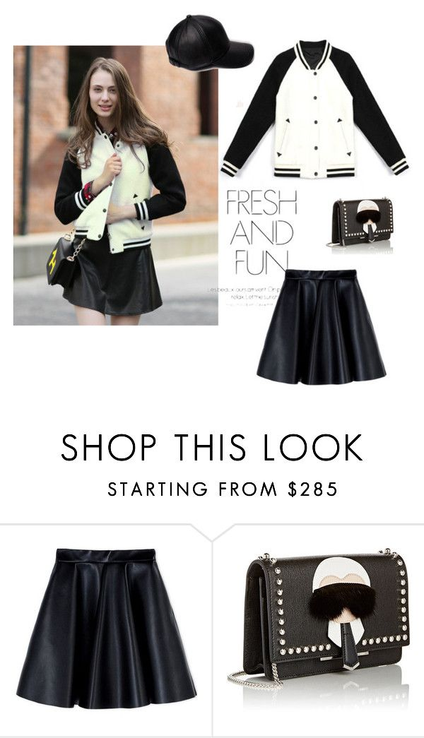 """""""Fresh and Fun"""" by stargazerfashion on Polyvore featuring MSGM, Fendi, women's clothing, women, female, woman, misses and juniors"""
