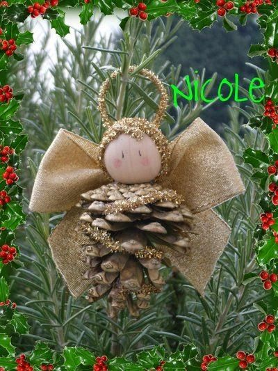 46 best angel crafts images on pinterest christmas diy diy 100 decorations and decorations from pine cones do it yourself pine cone craftsangel solutioingenieria Image collections