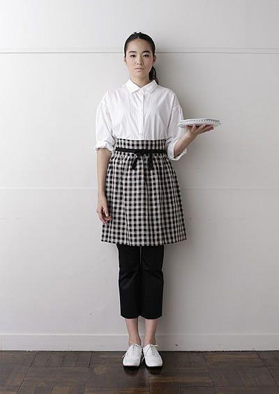 シンプルで可愛いエプロン Cute apron, easy to make!  チュチュ   nooy / ヌーイ