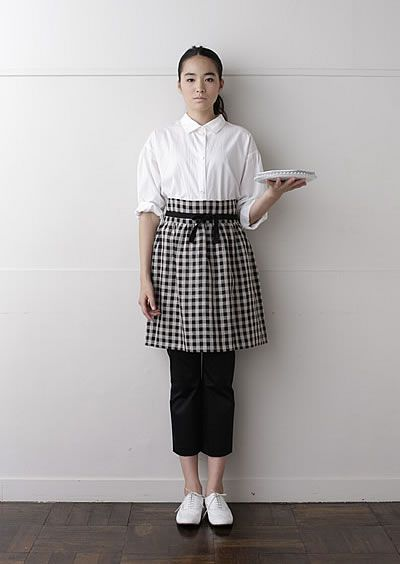 Cute apron, easy to make! チュチュ | nooy / ヌーイ