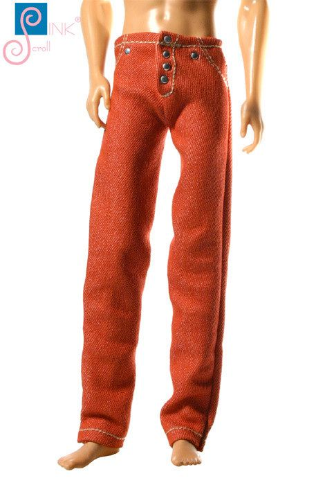Ken clothes jeans: Arizona by Pinkscroll on Etsy