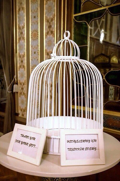 Kuş kafesi...