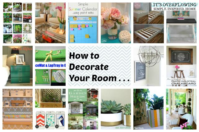 How To Decorate Your Room Pinterest