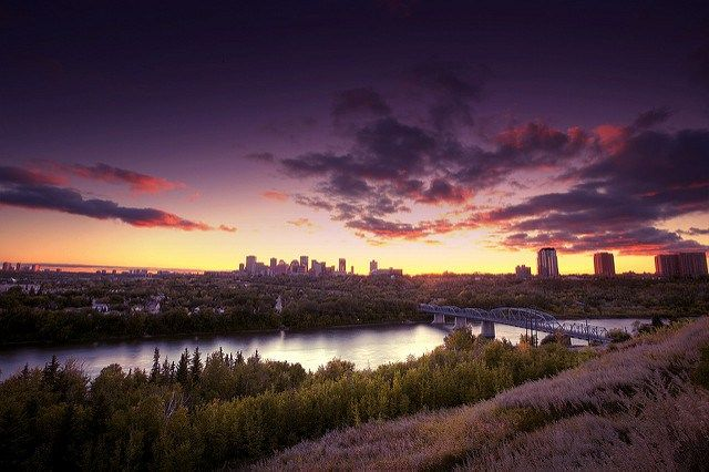 5 Incredible Places to Watch the Sunset in Edmonton #yeg #yegdate