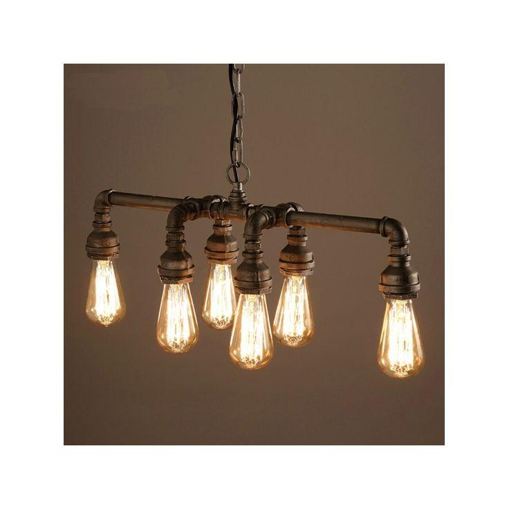 Buy edison retro loft style vintage industrial pendant - Lampara industrial vintage ...
