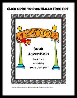 Free PDF Zoo Themed Learning Activities for preschoolers