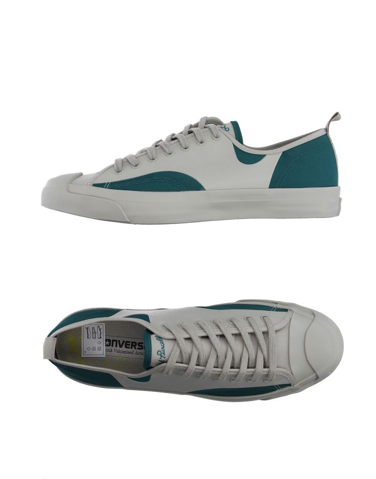 hippe Converse jack purcell  low-tops herensneakers (grijs)