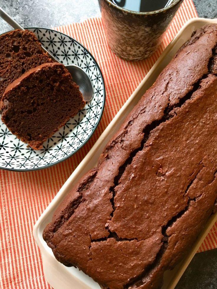 Cake au chocolat sans gluten et sans beurre | Recette ...