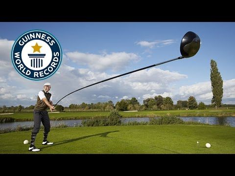 Karsten Maas has invented the world's longest usable golf club - 14 ft long! - GOLF.com