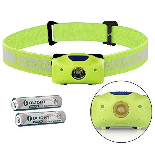 Olight Best AAA Flashlight H05 ACTIVE Headlamp Cree XML2 LED 150 Lumens Headlight Powered 2x Lithium Iron AAA batteries Green -- Click on the image for additional details.(This is an Amazon affiliate link and I receive a commission for the sales)