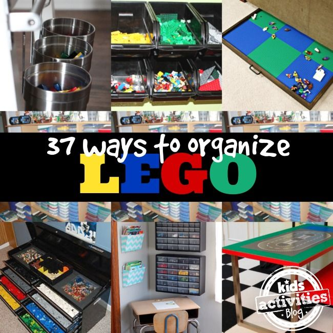 37 LEGO Organization Ideas - Kids Activities Blog