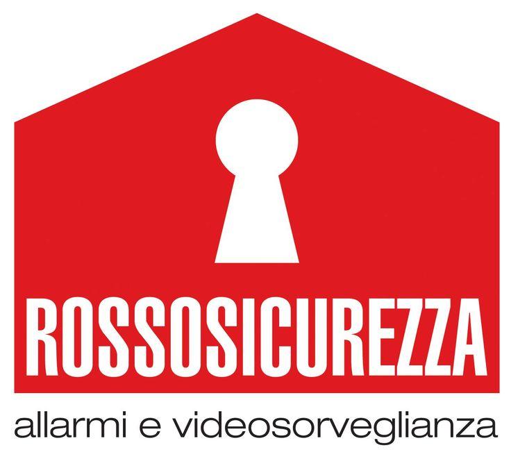 ROSSO SICUREZZA - Logo per nuova impresa installazione di videosorveglianza domestica. VS.#1