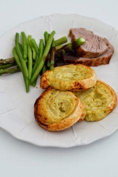 Kartoffelroulade med pesto