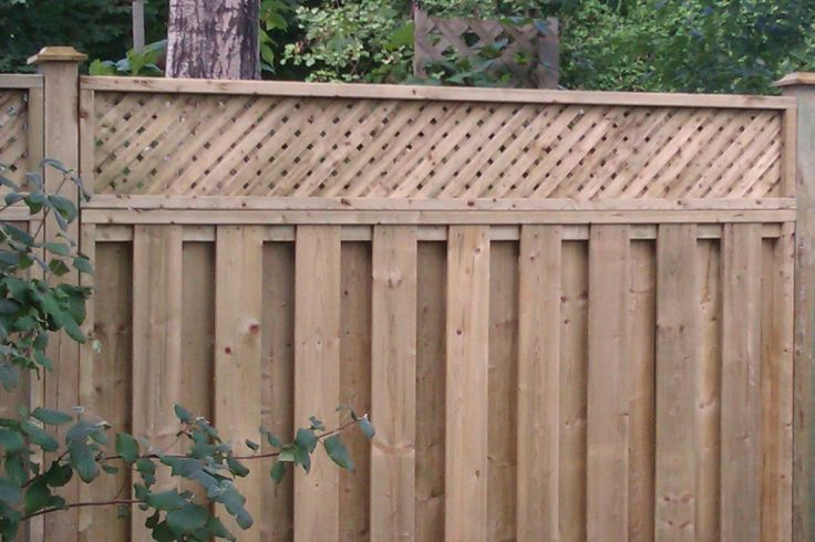 attractive good neighbor fence plans #1: Pinterest