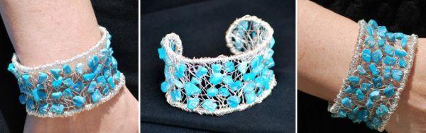 Você pode fazer esta linda pulseira de arame para incrementar os seus looks e assim ficar muito mais bonita. E não pense que é difícil fazer esta peça,