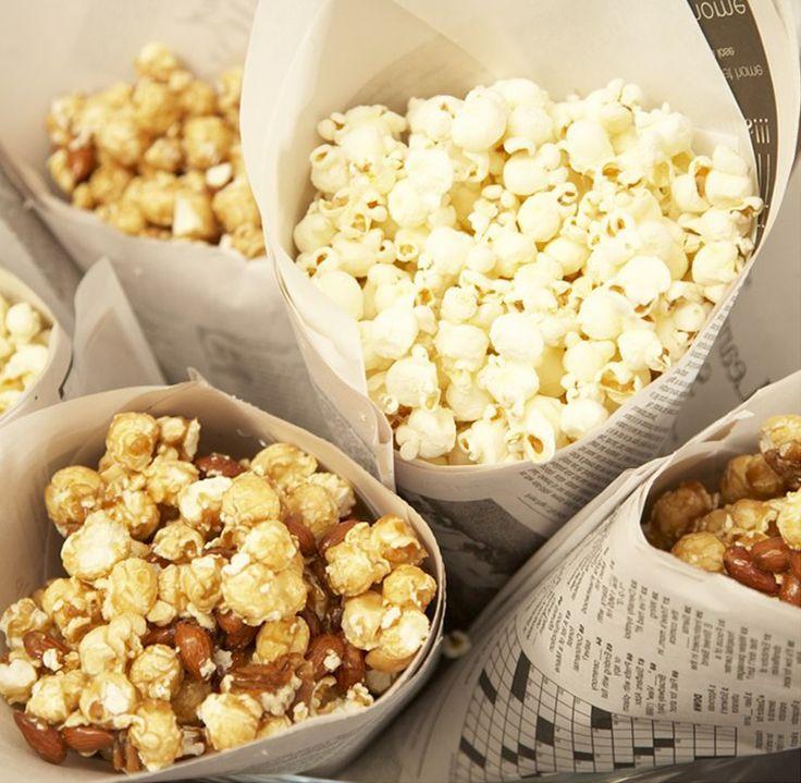 smell of fresh popcorn
