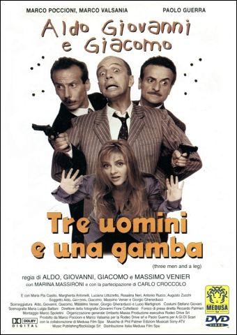 Aldo Giovanni & Giacomo - Tre Uomini E Una Gamba
