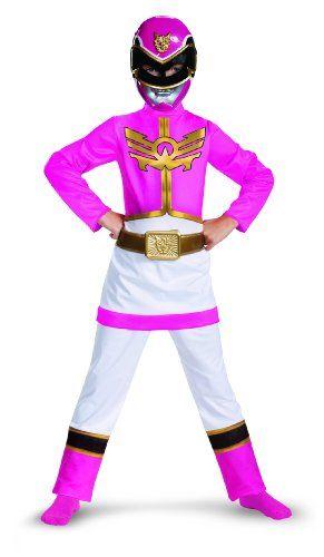 disguise  Power  Rangers  megaforce  pink  Ranger  girls  classic  costume  10  12