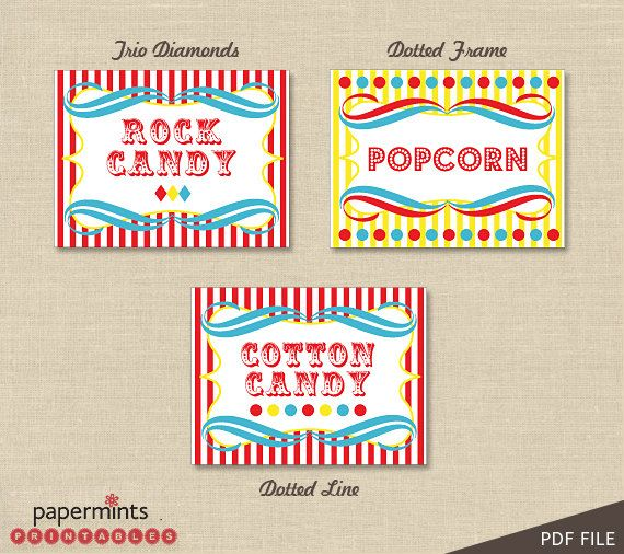 PRINTABLE Personalized Food Label in by papermintsprintables, $8.00