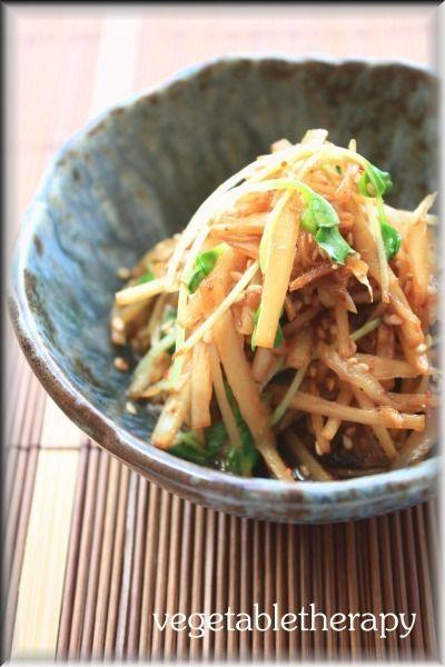 うどきんぴら by つづみさん | レシピブログ - 料理ブログのレシピ満載!
