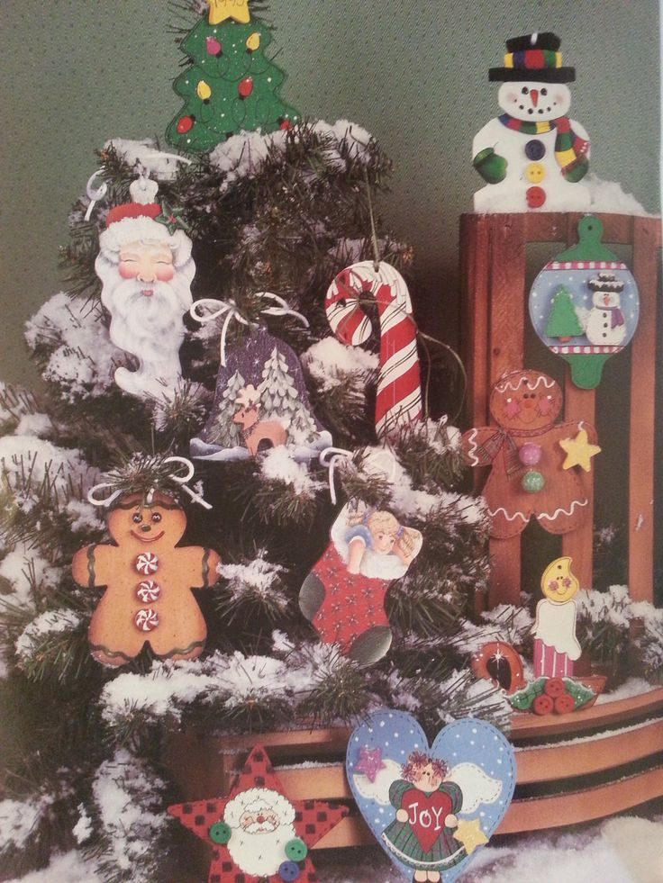 Holiday Hangabouts Vintage Tole / Decorative Painting Book by Provo Craft