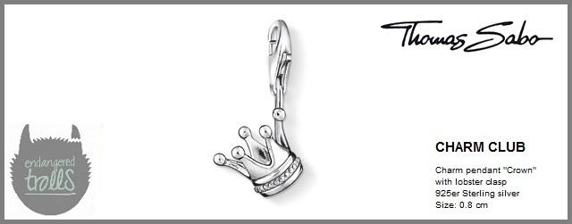 Thomas Sabo Fall 2012 - The Charm Club - Crown - http://www.endangeredtrolls.com/thomas-sabo-fall-2012-charms-2/#