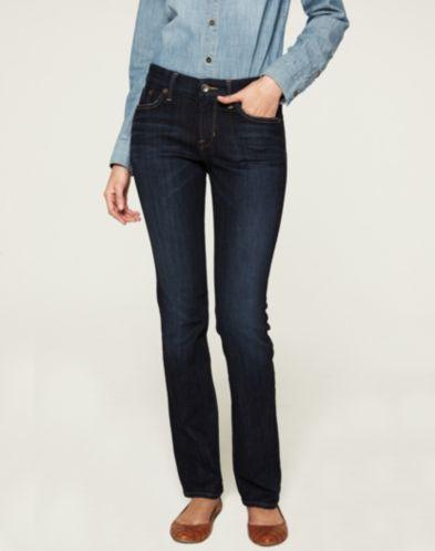Sweet Jean Straight, 32' inseam, 69.4%CTN/ 28%VISCOSE/2.6%ELAST
