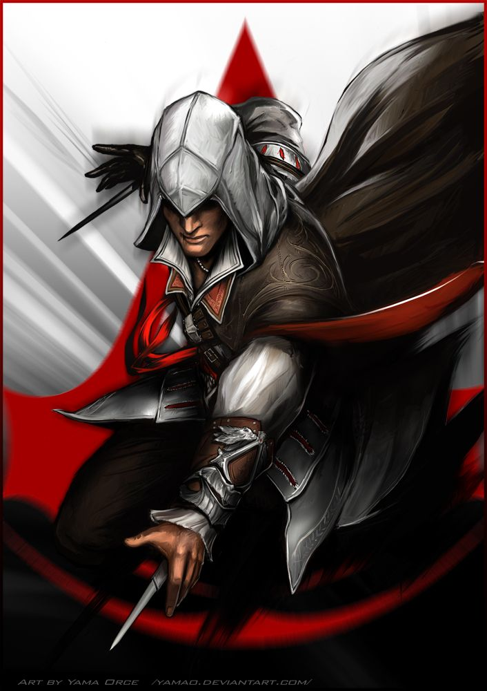 AC2 Ezio by Yama Orce | Video Games | Pinterest | Art and ...