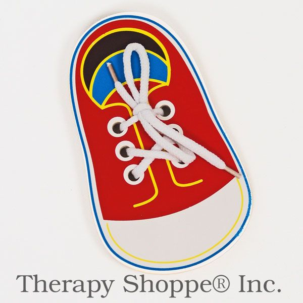Dressing and Shoe-Tying skills : The Therapy Shoppe, The extraordinary little specialty shoppe for school and pediatric therapists, teachers and parents too.