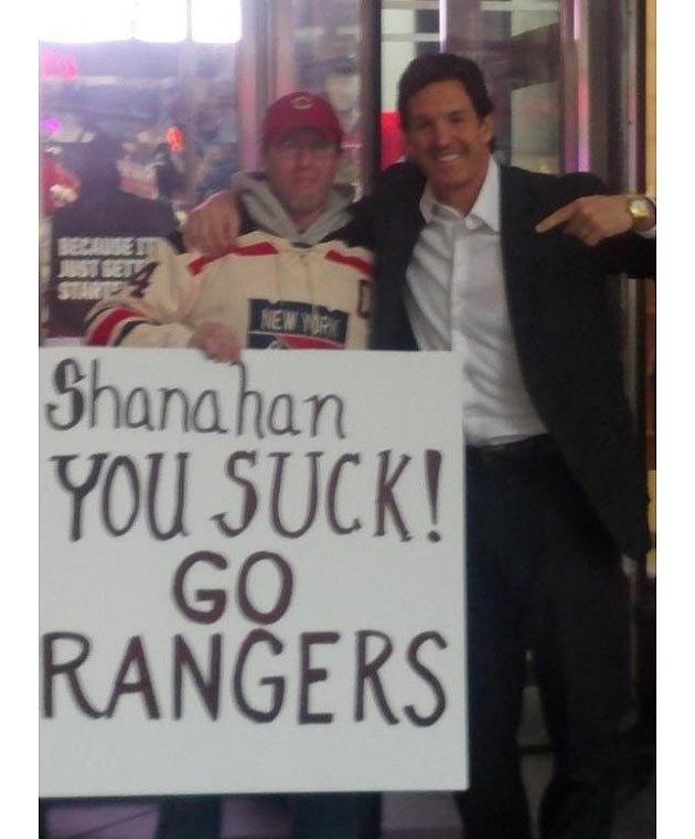 The ShannaHammer meets a fan.