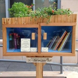 """How to Keep Your Little Free Library Stocked"" (Bookriot)"