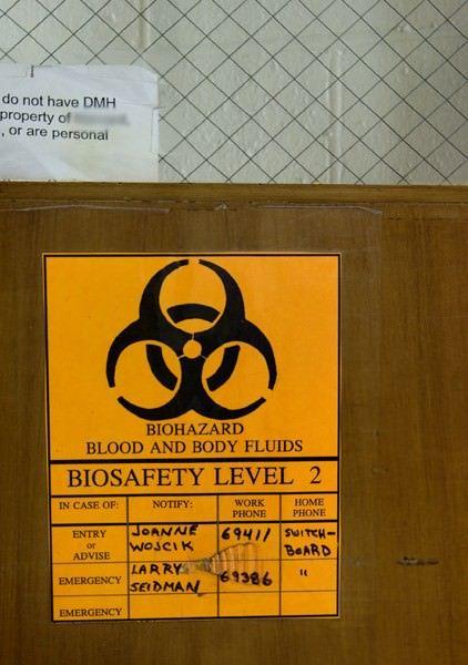 Biosafety Level 2 - Abandoned Massachusetts Mental Health Center. 1912-2003