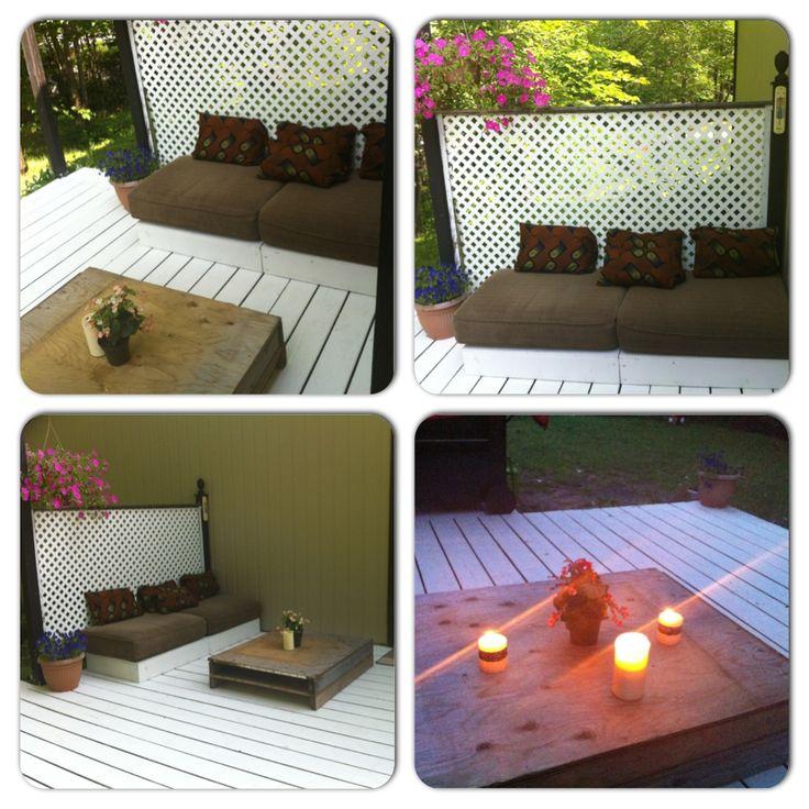 Muebles y mesa rusticos material reciclado madera for Reciclado de muebles y objetos