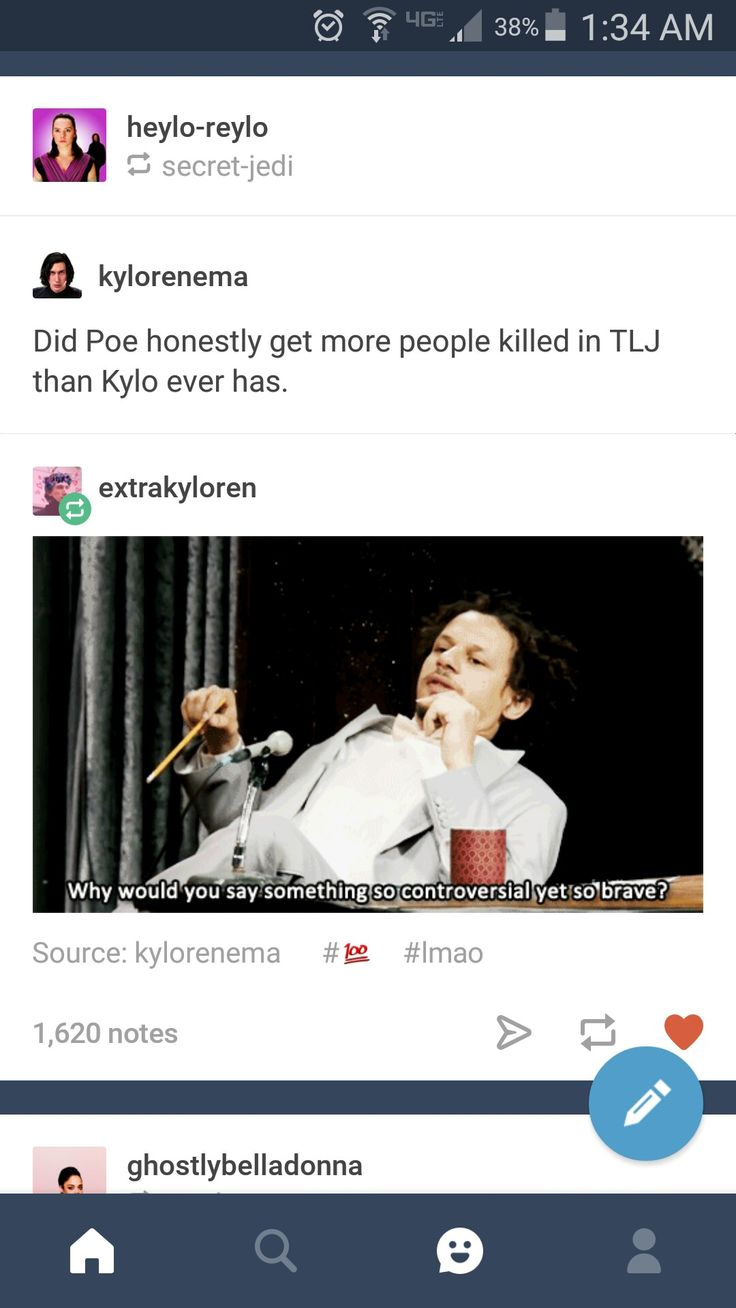 But we love Poe and can't forgive Kylo????? I mean, Poe did the right thing in the long run because the First Order was tracking them, and they couldn't escape, but this is war. Soooo... the Rebels are going to kill more than the FO because there's more FO, so logically more have to die for the Resistance to win the war.
