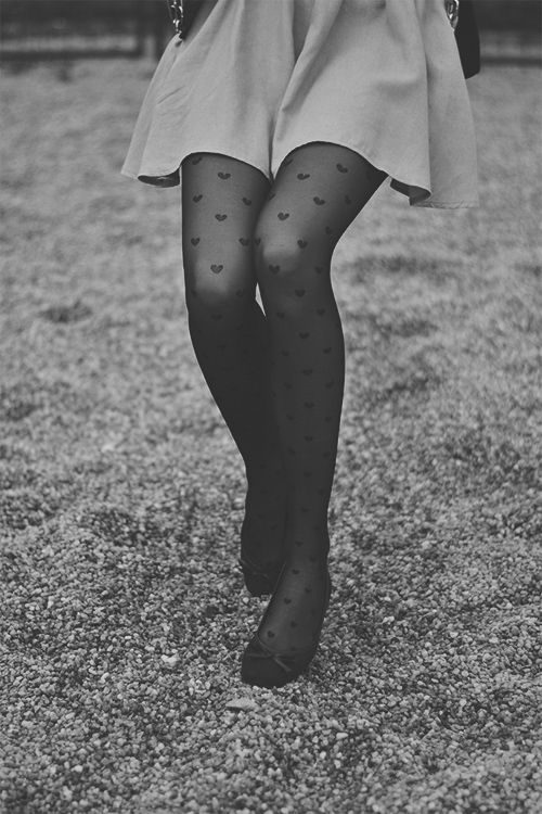 I have heart tights but have no idea what to wear with them. Any suggestions? Thanks! :) btw: I can't answer. Sorry. . .