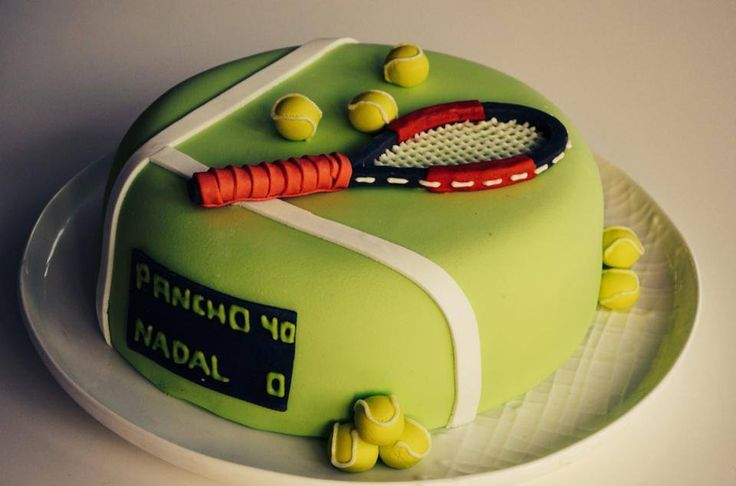 Torta decorada Tenis Tennis Cake