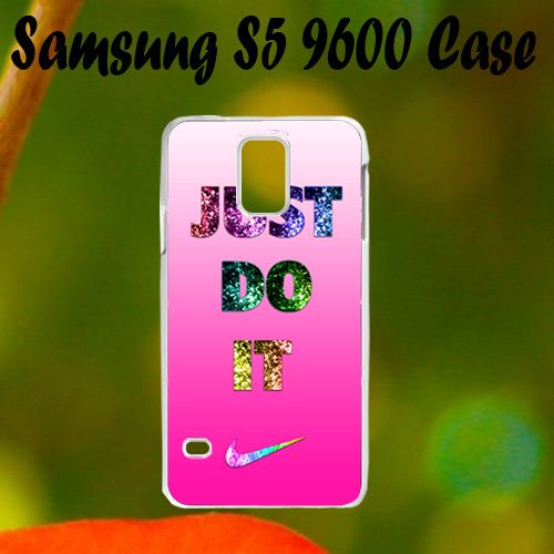 Nike Just Do It Pink Cute Samsung S5 i9600 Case, Plastic Case, Best Case
