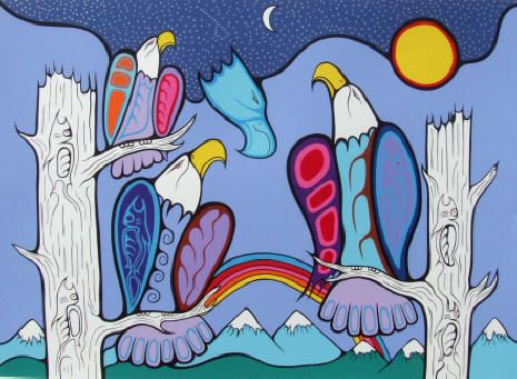 Blessings of the Great Spirit by Artist Mark Anthony Jacobson