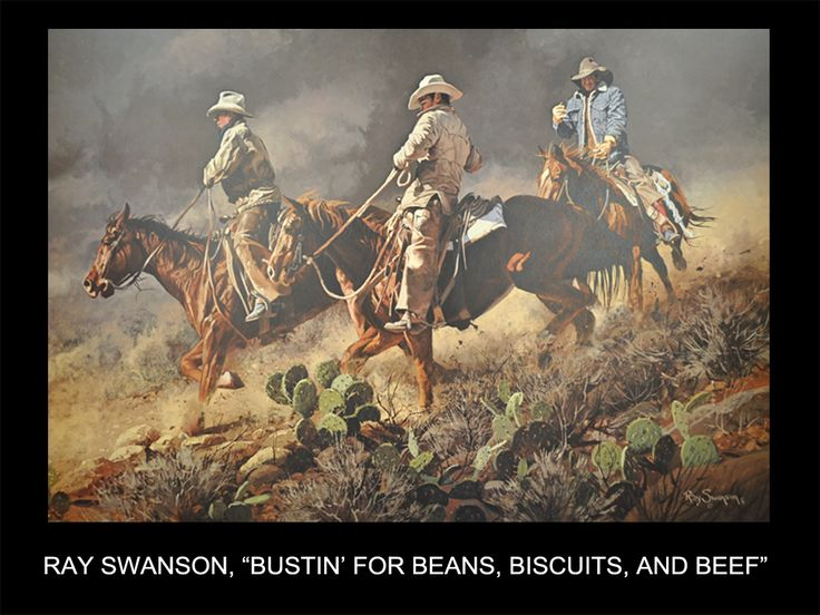 """Ray Swanson, """"Bustin' for Beans, Biscuits, and Beef"""""""