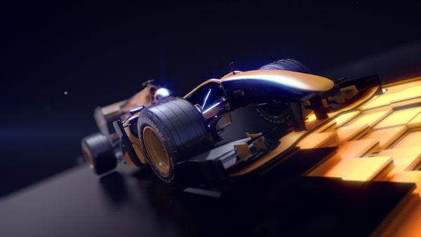 F1 Antena 3 / Nitro by Thais Altès, via Behance