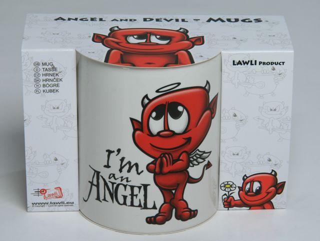 Valentínky darček pre ženy.  Hrnček - I´m an Angel - Mug  http://www.lawli.sk/darcek/eshop/35-1-Valentinske-darceky