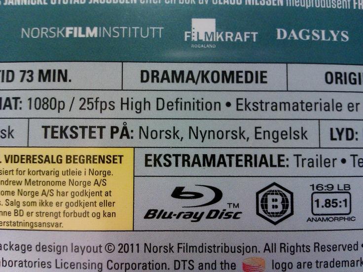 """Innhaldet på """"Få meg på, for faen"""" Blu-Ray."""