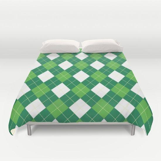 Green Duvet Cover