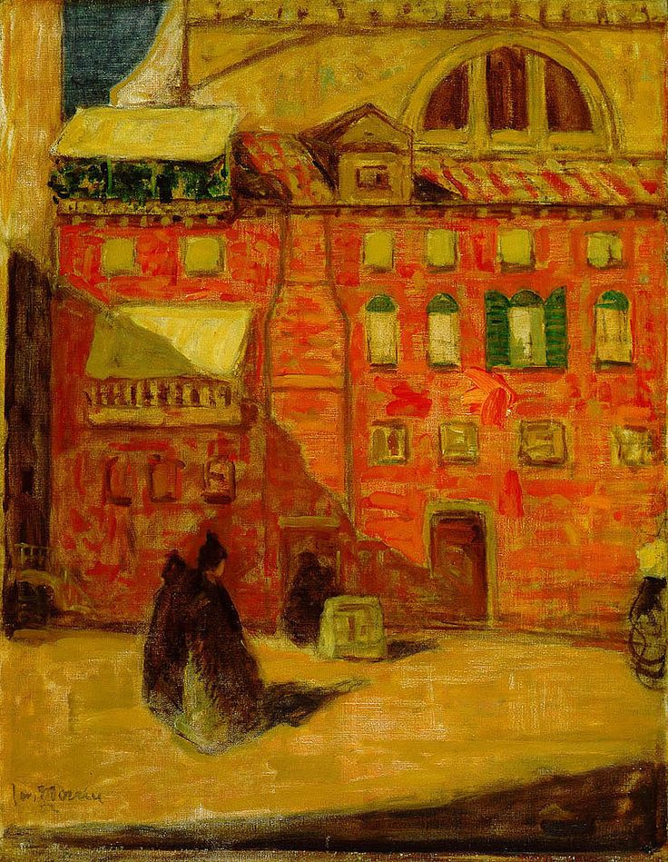 The Athenaeum - Red House, Venice (James Wilson Morrice - )