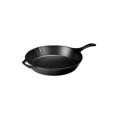 13.25 Inch Cast Iron Skillet Lodge is the only US manufacturer of cast iron.