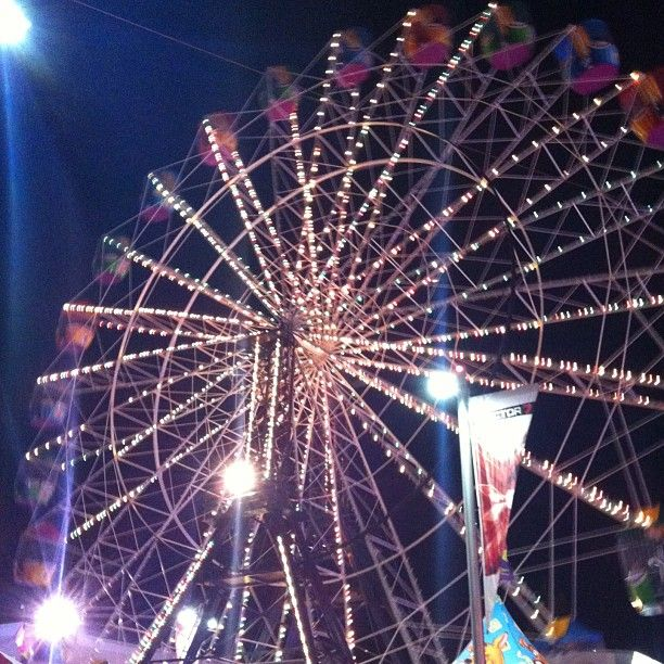 "@sophierbarratt's photo: ""@royaladelaideshow #showntell ferris wheel lit up, amazing :D"""
