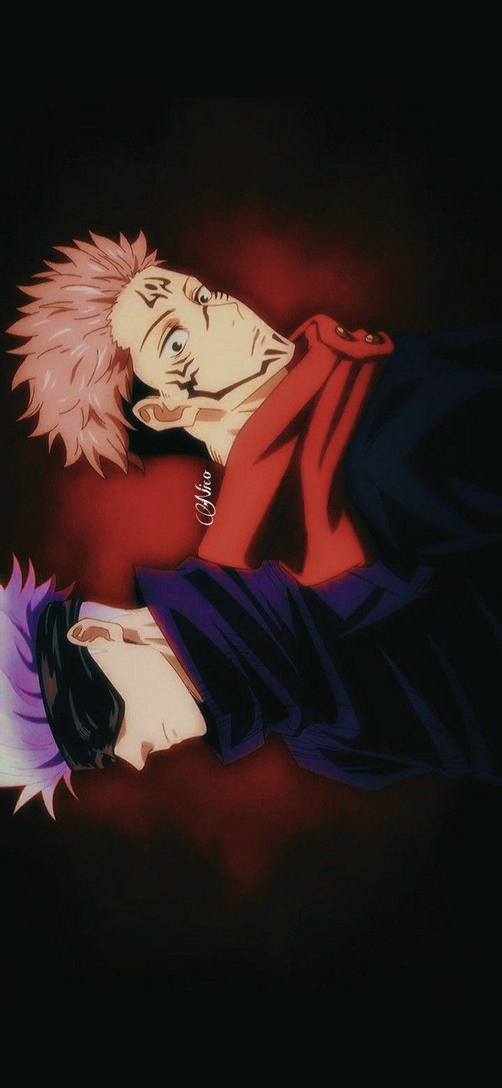 Jujutsu Kaisen Sukuna Gojo Satoru In 2021 Aesthetic Anime Anime Anime Wallpaper
