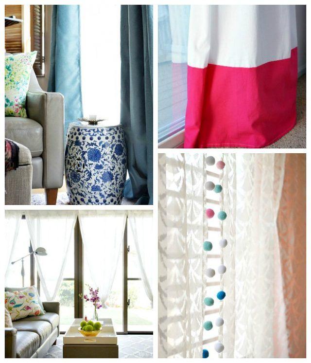 Creative Kitchen Window Treatments Hgtv Pictures Ideas: Best 25+ Cheap Window Treatments Ideas On Pinterest